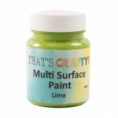 That's Crafty Multi Surface Paint - Lime
