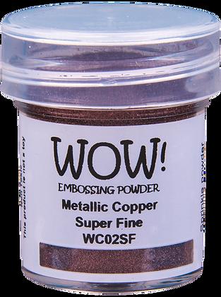 Wow! Metallic Copper Embossing Powder - Super Fine