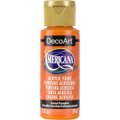Deco Art Americana Acrylic Paint - Spiced Pumpkin