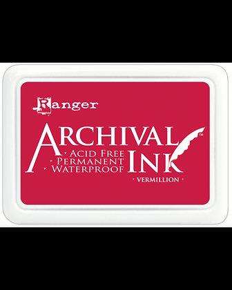 Ranger Archival Ink Pad - Vermillion