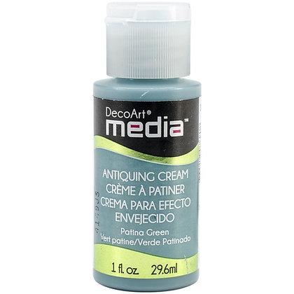 Deco Art Media Antiquing Cream - Patina Green