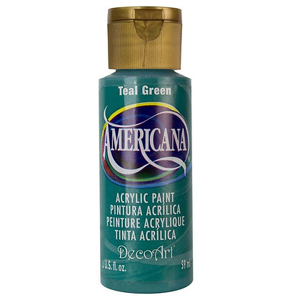 Deco Art Americana Acrylic Paint - Teal Green
