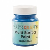 That's Crafty Multi Surface Paint - Bright Blue