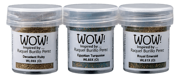 Wow! Trio Ancient Jewels inspired by Raquel Burillo Perez
