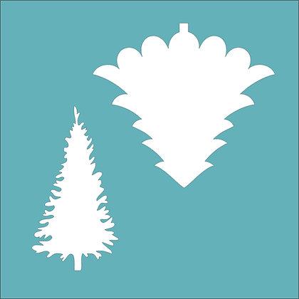 Christmas Tree Duo