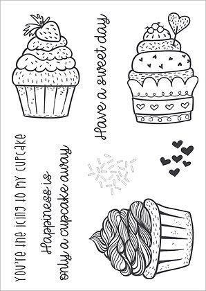 Cupcake Crazy Stamp Set