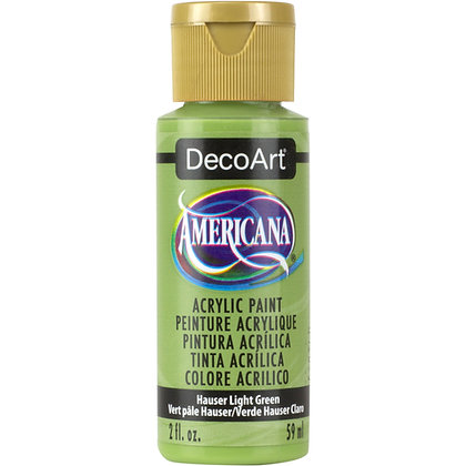 Deco Art Americana Acrylic Paint - Hauser Light Green