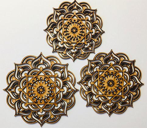 Pretty Mandalas Set of 3