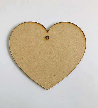 Hanging Heart - Curved