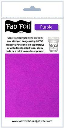 Wow! Fab Foil Purple