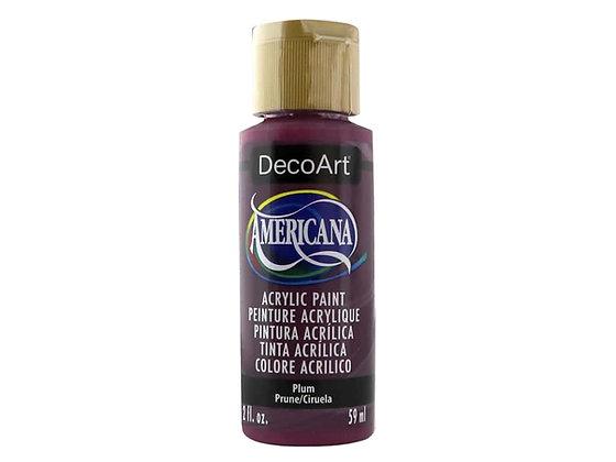 Deco Art Americana Acrylic Paint - Plum