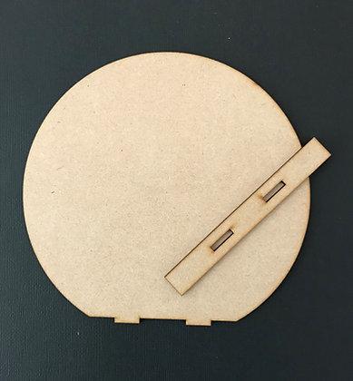 MDF Round Art Board