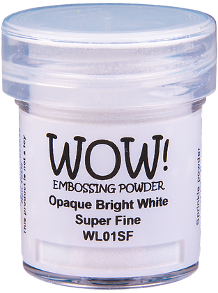 Wow! Bright White Embossing Powder - Super Fine