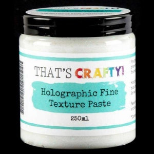 That's Crafty Holographic Fine Texture Paste