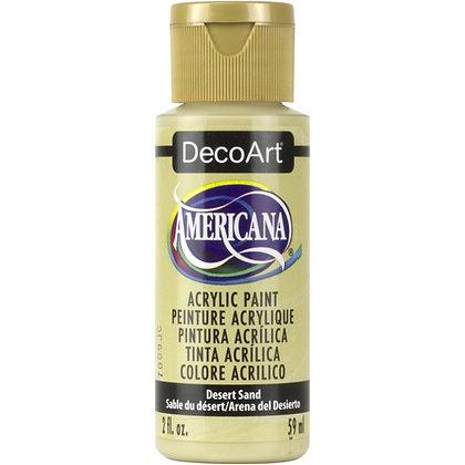 Deco Art Americana Acrylic Paint - Desert Sand