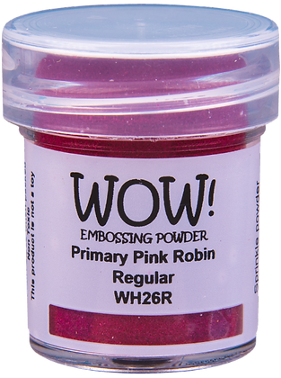 Wow! Primary Pink Robin Embossing Powder