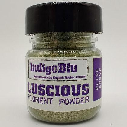 IndigoBlu Luscious Pigment Powder - Olive Grove