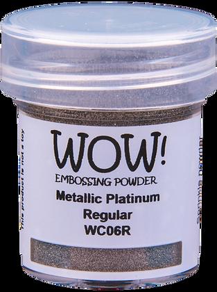 Wow! Metallic Platinum Regular Embossing Powder