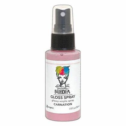 Dina Wakley Media Gloss Spray - Carnation