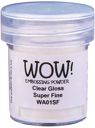 Wow! Clear Gloss Embossing Powder - Super Fine