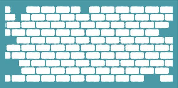 Slimline Brick Wall - Horizontal