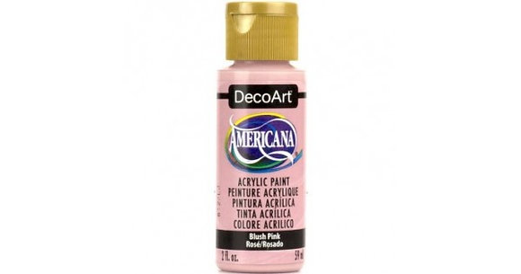 Deco Art Americana Acrylic Paint - Blush Pink