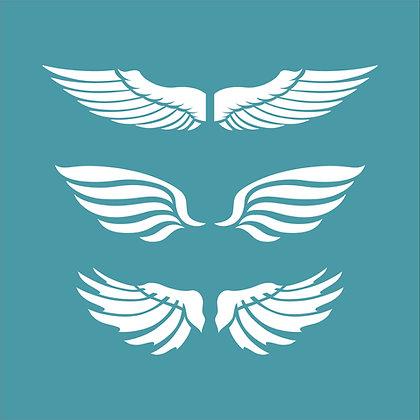 Winged Trio