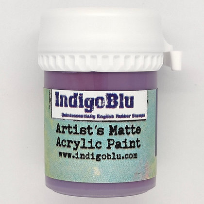 IndigoBlu Artist Matte Acrylic Paint - Wimberry Pie, 20ml