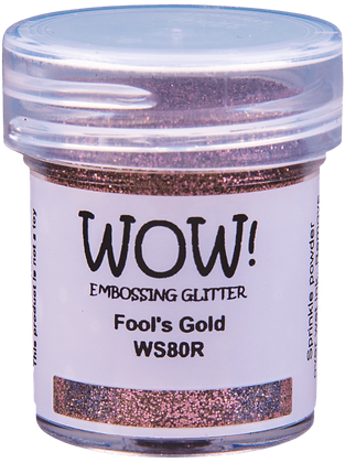 Wow! Embossing Glitter - Fool's Gold