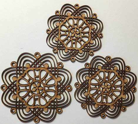 Curvy Mandalas Set of 3