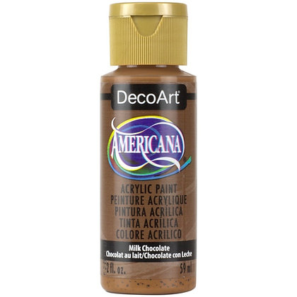 Deco Art Americana Acrylic Paint - Milk Chocolate