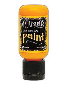Dylusions Paint - Pure Sunshine, 1oz bottle