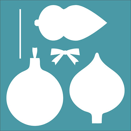 Bauble Builder Stencil
