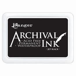 Ranger Archival Ink Pad - Jet Black