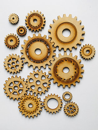 Pack of Cogs and Gears