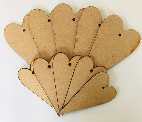 Primitive Hearts x 10