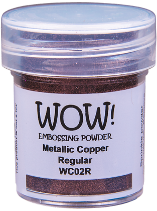 Wow! Metallic Copper Regular Embossing Powder -15ml jar