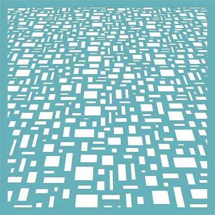Blocks in Perspective Stencil