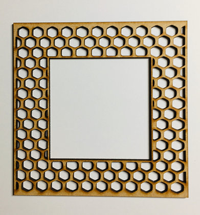 Honeycomb Frame - medium