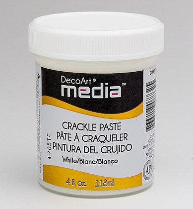 Deco Art Media White Crackle Paste