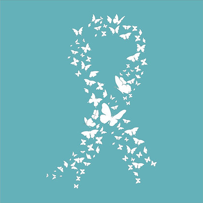 Butterfly Breast Cancer Ribbon