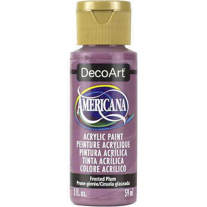 Deco Art Americana Acrylic Paint - Frosted Plum