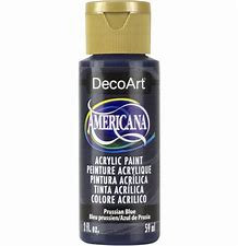 Deco Art Americana Acrylic Paint - Prussian Blue