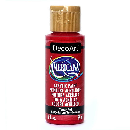 Deco Art Americana Acrylic Paint - Tuscan Red