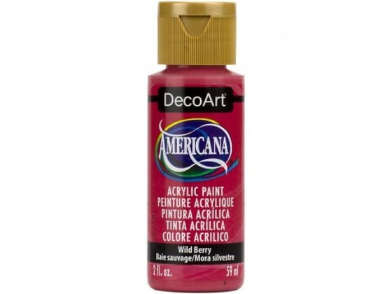 Deco Art Americana Acrylic Paint - Wild Berry