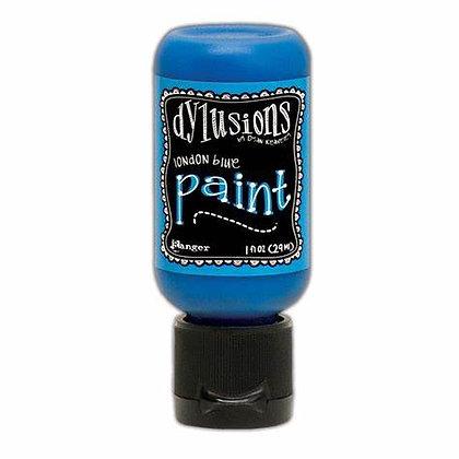 Dylusions Paint - London Blue, 1oz