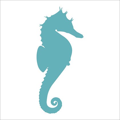 Seahorse Stencil & Mask
