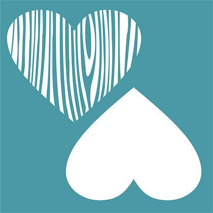 Woodgrain Heart