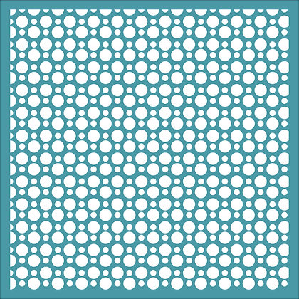 Dotty Grid Stencil