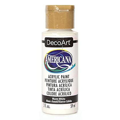 Deco Art Americana Acrylic Paint - Warm White